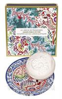 Fragonard Jasmin Perle De The perfumed soap 150g c мыльницей