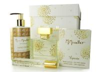 M.Micallef Pure Extreme set  Winterland (100ml edp + 10ml edp + свеча 180g + крем для рук 250ml)