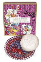 Fragonard Heliotrope Gingembre perfumed soap 150g с мыльницей