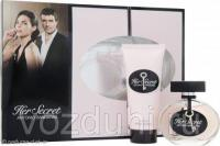 A.Banderas Her Secret set ( edt 80ml + 100ml body lotion )