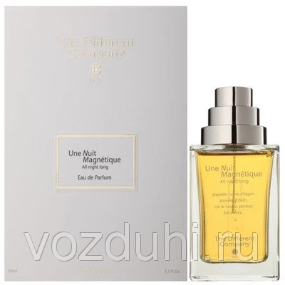 The Different Company Une Nuit Magnetique - All Night long edp 100ml