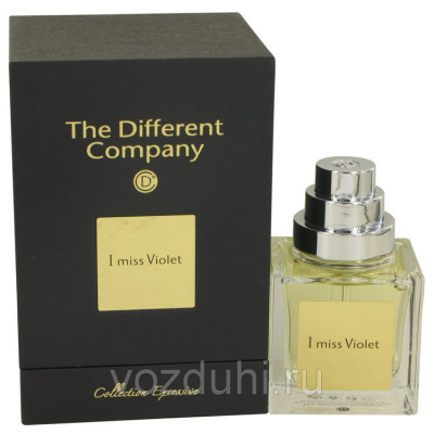 The Different Company Collection Excessive I miss Violet 50ml