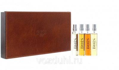 Bois 1920 набор 4*17ml NEW COLLECTION (Spigo/Verde di mare/Aethereus/Oro)