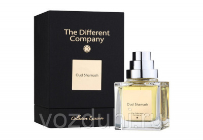The Different Company Collection Excessive Oud Shamash edp 50ml