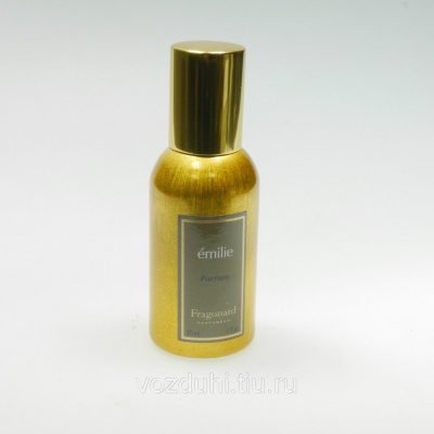Fragonard Emilie parfum 30ml gold bottle tester
