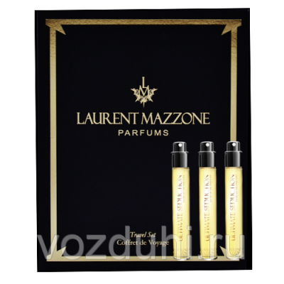 Laurent Mazzone Parfums ULTIMATE SEDUCTION TRAVEL SET extract 3*15ml