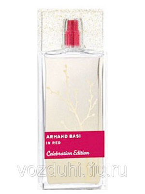 In Red Celebration Edition Armand Basi edt 100 ml